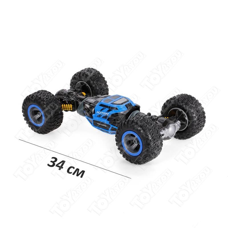 Машинка-перевертыш ZhengGuang UD2169A 1:16 34 см синяя
