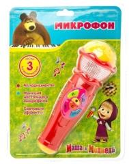 Детский микрофон Маша и медведь Играем вместе A848-H05031-R2