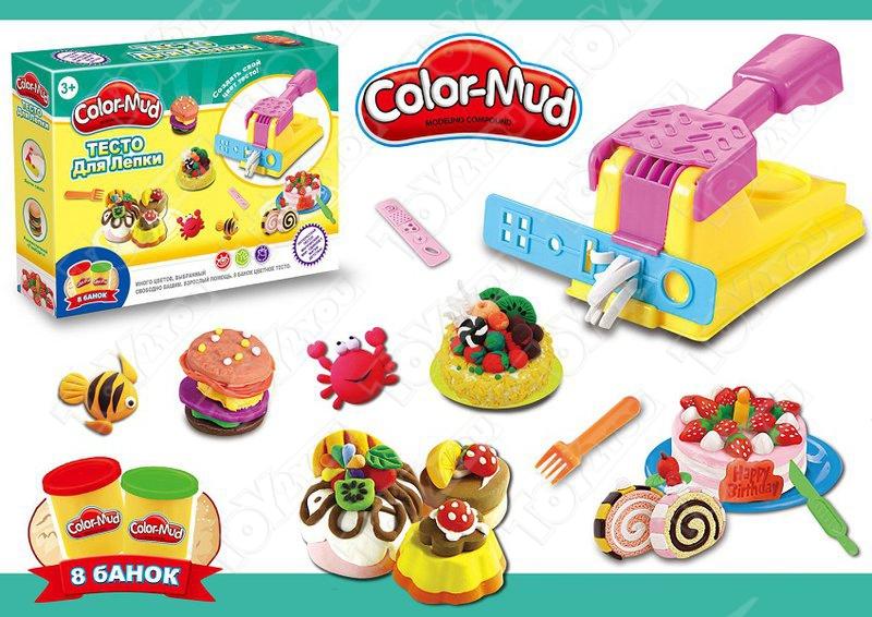Игровой набор «Color-Mud» Кондитерская фабрика