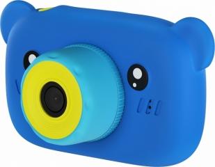 Цифровой детский фотоаппарат Мишка Children's fun Camera, синий.