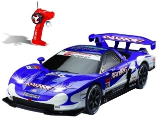 Р/у 1:28 HONDA NSX SUPER GT LC296620-6 Машина на батарейках, в коробке AULDEY