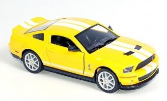 Машина 1:38 Ford 2007 Shelby GT500 KT5310W инерционная, металл, в коробке 16*8,5*7,5см ТМ KINSMART