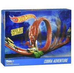 Игровой набор Hot Wheel Knockout The Cobra Приключения с Коброй (2700)