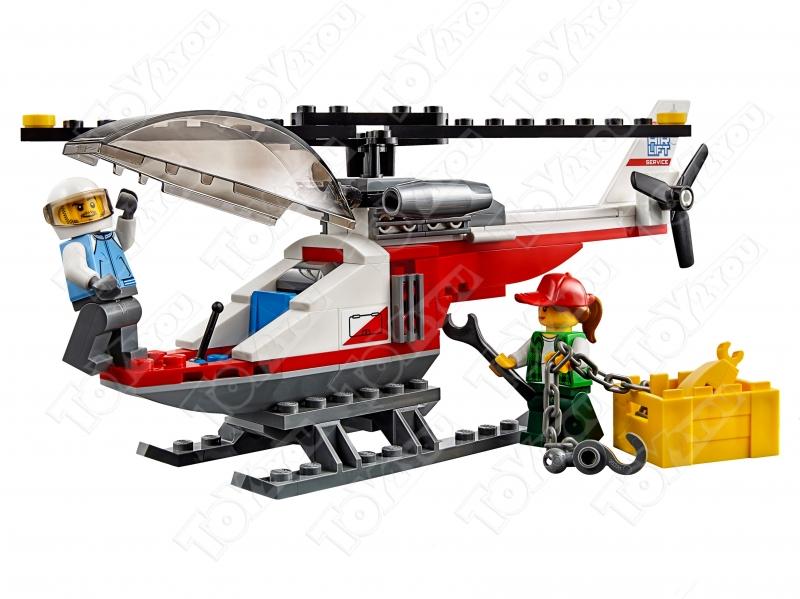 Конструктор City Перевозчик вертолета 322 деталей 60183 BELA 10872