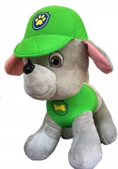Мягкая игрушка Рокки Щенячий патруль 40 см.