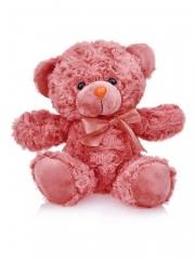 Мягкая игрушка Мишка 22 см (глубокий карминный)