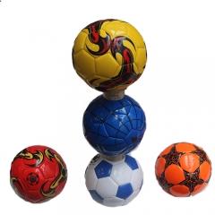 Футбольный мяч цветной
