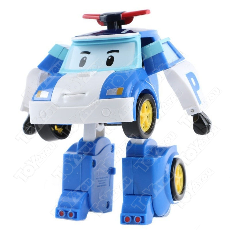 Полный набор трансформеров Робокар Поли (Robocar Poli) 6 шт