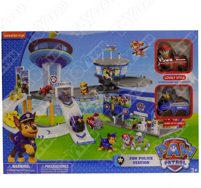 Набор игрушек Щенячий Патруль (Paw Patrol) - Полицейская станция