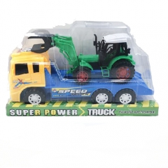 Автовоз с трактором