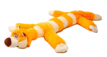 Мягкая игрушка Кот Бекон оранжевый