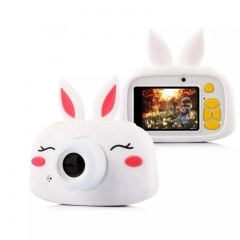 Детский Цифровой Фотоаппарат KIDS CAM  Кролик TV YT010 (2 камеры)