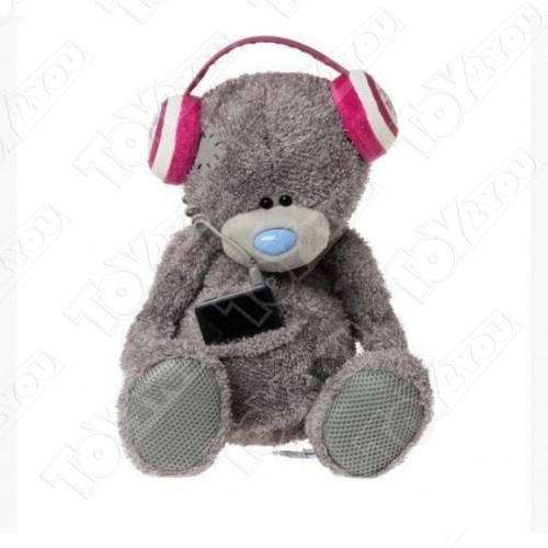 Me to You Мягкая игрушка Мишка Тедди в наушниках 34 см