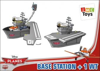 Рация 625020 Planes с базой, на батарейках, в коробке TM Disney