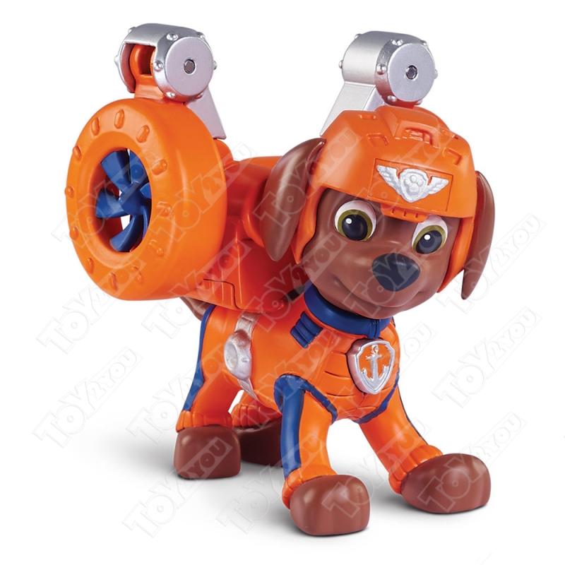 Набор игрушек Щенячий патруль воздушные спасатели (Paw Patrol Sky) - 7 героев с рюкзаками трансформерами и машинками.