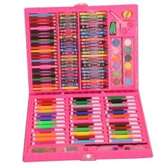 Набор для рисования 150 предметов розовый
