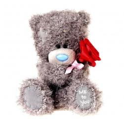 Me to You Мягкая игрушка Мишка Тедди с розой 16 см