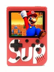 Портативная игровая приставка SUP GAME BOX PLUS 400 в 1 (Красная)