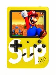 Портативная игровая приставка SUP GAME BOX PLUS 400 в 1 (Желтая)