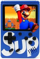 Портативная игровая приставка SUP GAME BOX PLUS 400 в 1 (Синяя)
