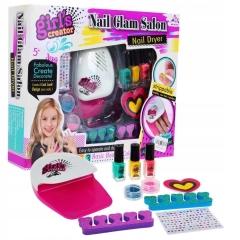 """Детский маникюрный набор """"Нэил Глэм Салон"""" для девочек  """"Nail Glam Salon"""""""