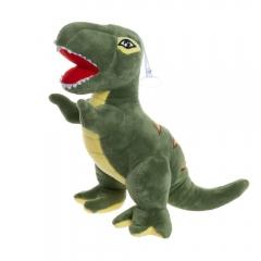 Мягкая игрушка Динозавр Т-Рекс 27 см зеленый (T-Rex)
