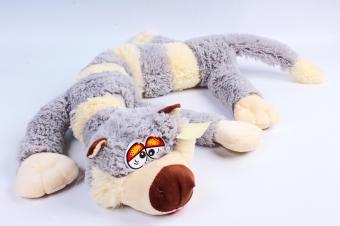 Мягкая игрушка Кот Бекон серый