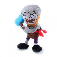 Мягкая игрушка Plants vs Zombies Зомби неандерталец 30 см