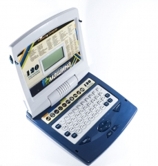 Детский обучающий компьютер Машина 120 Функций JIADA (JD20201ER) Серый
