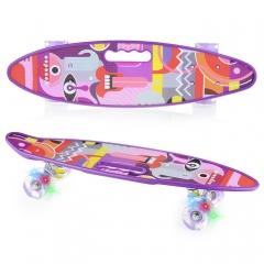 "Скейт Cruiser Board ""Абстракция"" пенни борд 61 см"