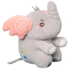 Мягкая игрушка Слоник 25 см (серый)