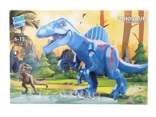 Конструктор Zuanma no.048-1 Парк Юрского Периода Jurassic Wolrd (со звуком)