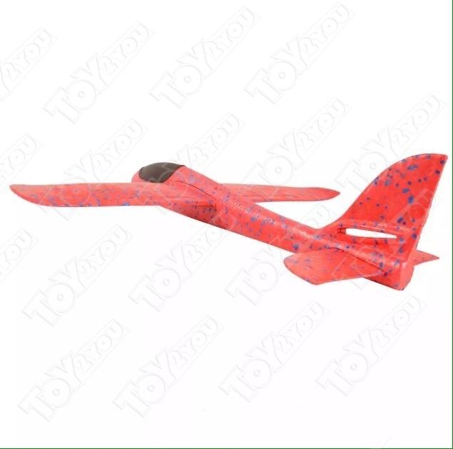 Большой Самолет - Планер 46 см Красный