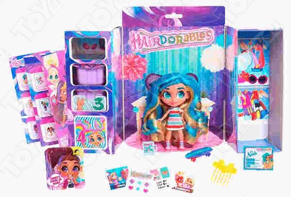 Кукла загадка hairdorables Cтильные подружки, 1 серия