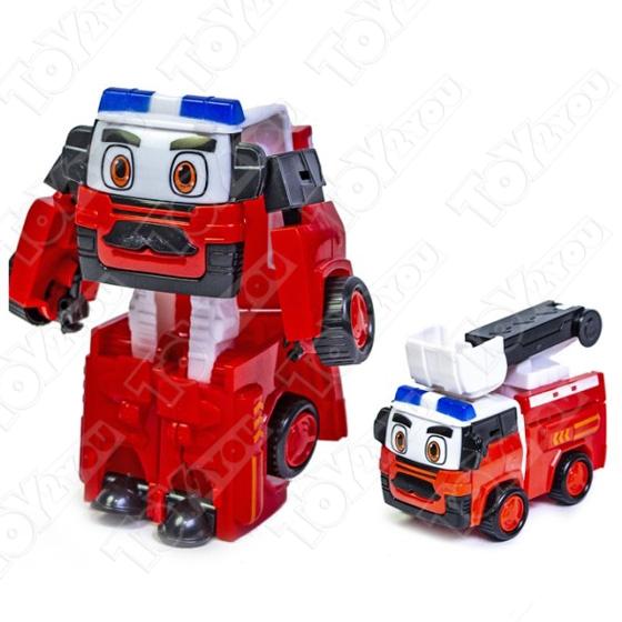 Второе поколение трансформеров Робокар Поли 4 шт  (Robocar Poli) 4 шт
