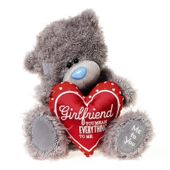 Мишка G01W3820 Тедди Me to You 25см с сердцем