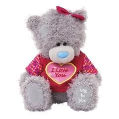 Мишка G01W3511 Тедди Me to You 18 см в свитере Я тебя люблю