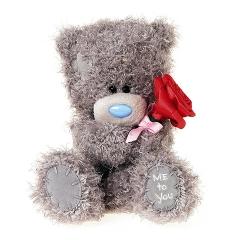 Мишка G01W3816 Тедди Me to You 18см с розой