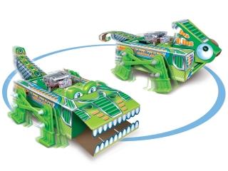 Научный опыт 37602 2 в 1 Рептилии на батарейках, в коробке