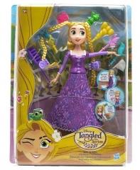Кукла C1748 DISNEY PRINCESS Рапунцель классическая с модной причёской HASBRO