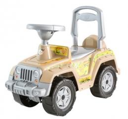 Каталка 549 Машина сафари для катания детей, вес ребенка до 30 кг ОРИОН