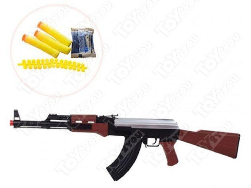 Детский Автомат Калашникова АК-47 с пульками многозарядный АК123