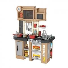 Детская кухня с буфетом Chef Kitchen 922-101 58 предмета (вода, свет, звук)