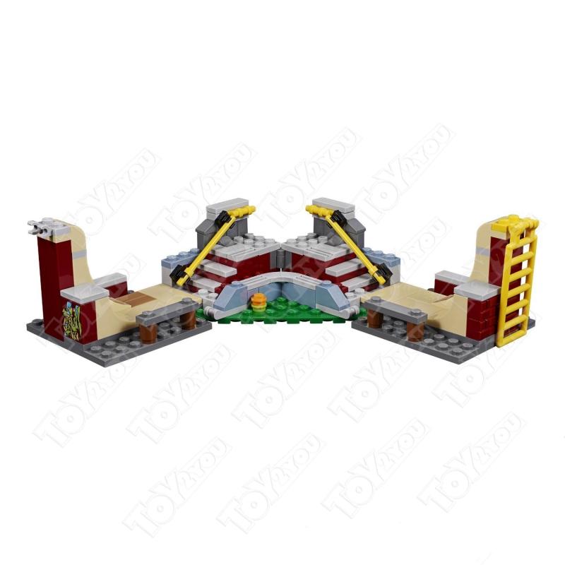 Конструктор Creator Скейт-площадка 434 деталей 31081 BELA 11049