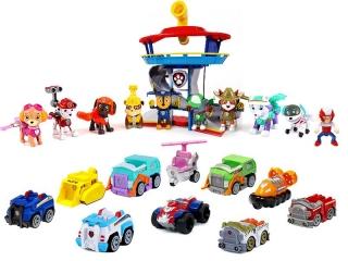 Комплект Щенячий Патруль - Большой офис спасателей + Команда из 10 героев с машинками