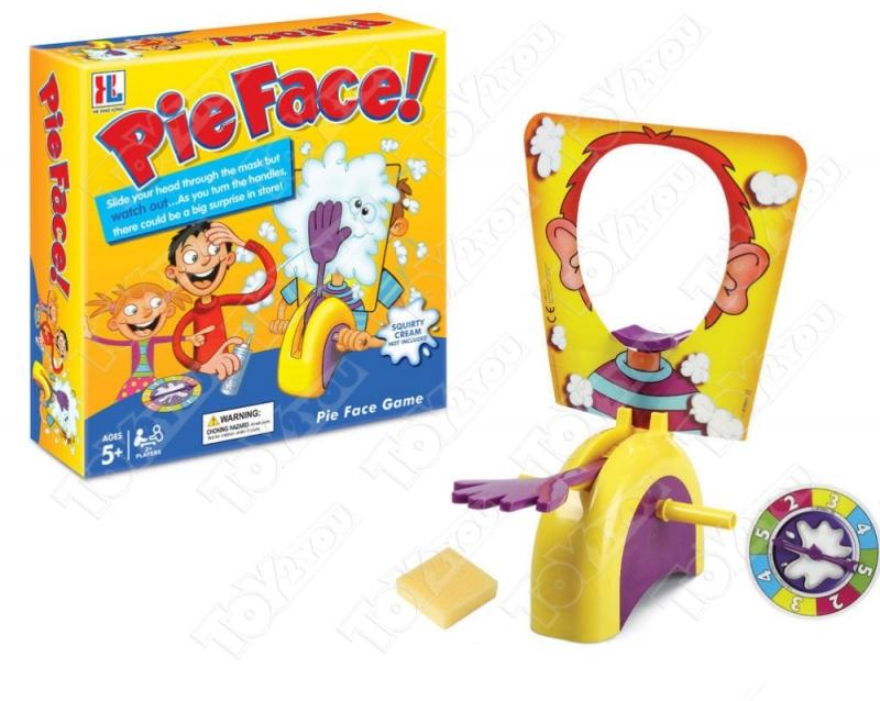 Игра пирог в лицо (Pie Face Showdown)
