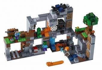 Конструктор MY World Пещера Майнкрафт 21147 BELA 33228(664 детали)