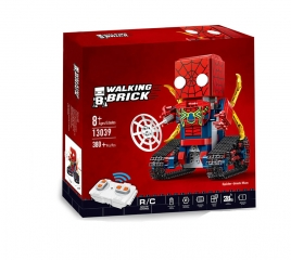 Конструктор Техникс Брикхеад Спайдер Мен 41497 Mould King SpiderMan 13039 (380 деталей) с ПДУ