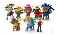 Набор игрушек Щенячий Патруль (Paw Patrol) - 8 фигурок с рюкзаками - трансформерами