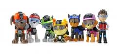 Набор игрушек Щенячий Патруль (Paw Patrol) 6 щенков и Райдер (Шпионы)